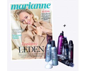 Aktuální vydání Marianne 1/2019 (poštovné zdarma) + 1x pěnové tužidlo Syoss (pouze pro ČR)