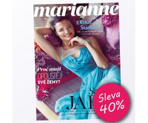 Roční předplatné Marianne  se slevou 40%