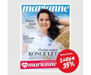 DNY MARIANNE: Roční tištěné předplatné se slevou 35%