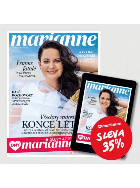 DNY MARIANNE: Kombinované předplatné (tištěné + digitální) se slevou 35%