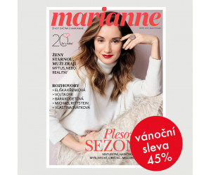 Roční tištěné předplatné Marianne se slevou 45%