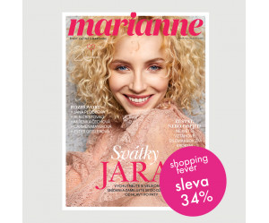 Roční tištěné předplatné Marianne se slevou 34 %