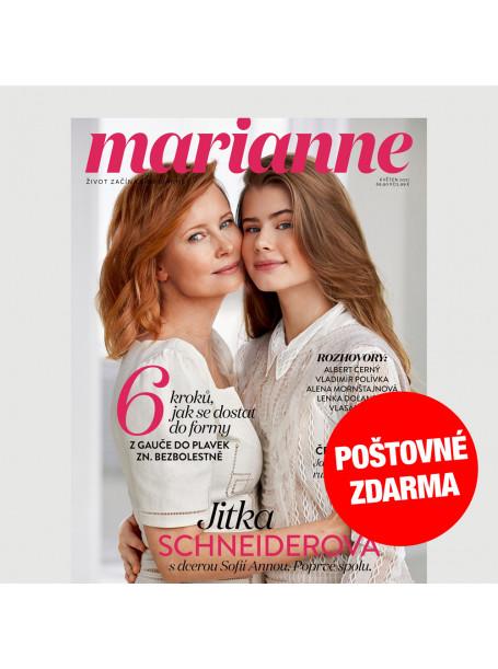 Aktuální vydání Marianne 5/2021 (POŠTOVNÉ ZDARMA, pouze pro ČR)