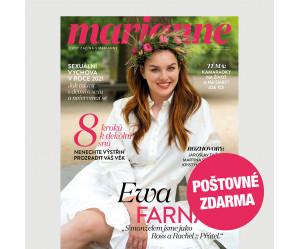 Aktuální vydání Marianne 8/2021 (POŠTOVNÉ ZDARMA, pouze pro ČR)