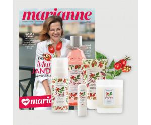 Roční předplatné Marianne + péče Manufaktura edice Šípek