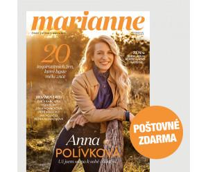 Aktuální vydání Marianne 11/2021  (POŠTOVNÉ ZDARMA, pouze pro ČR)